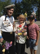 Украина город Николаев.Ветераны ВОВ Защищавшие город Севостополь