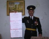 Вячеслав Сосницкий, третье место в литературном конкурсе армейских историй 2010